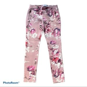 The Children's Place Floral Pink Girl's Pants